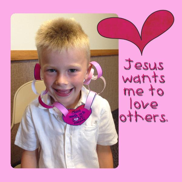 Jesus Love Each Other: Jesus Christ Loves Each Of Us, Primary Lesson Helps