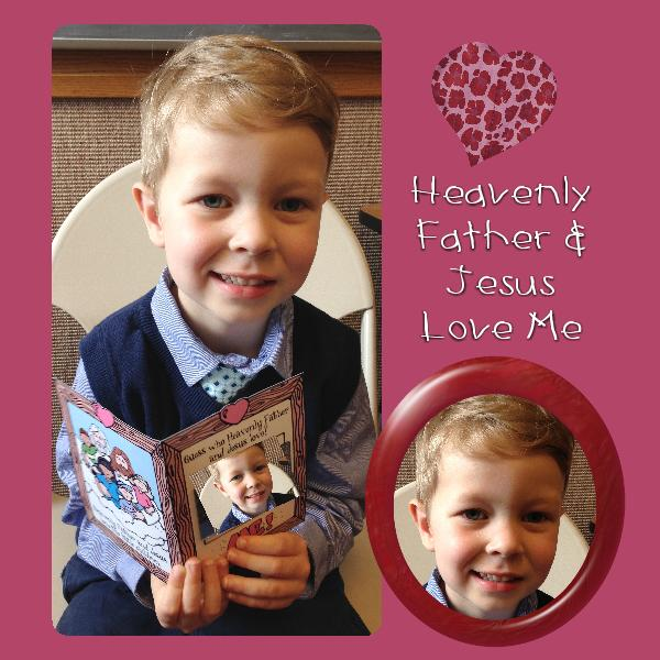 Heavenly Father And Jesus Christ Love Me Primary Lesson