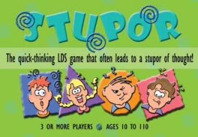 $10.99 STUPOR: Quick-thinking LDS game that often leads to a stupor of thought, gospelgrabbag.com