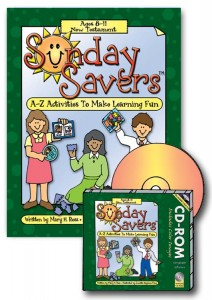 sunday savers, new testament, primary lesson activities, New Test.bk.cd