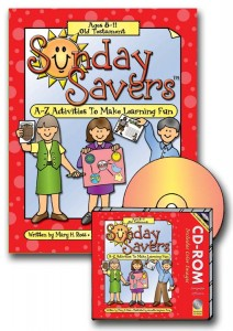 sunday savers, old testament activities, primary activities, Old Test.bk.cd