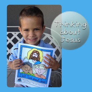 Primary Lesson Helps, Nursery Lesson 27 and Sunbeam Lesson 40 – The Sacrament Helps Me Think about Jesus, Sunday Savers, gospelgrabbag.com