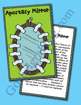 "$0.50 - APOSTASY: Come Follow Me, December –""What does it mean to 'stand as a witness of God'?"" Young Women lesson helps, gospelgrabbag.com, YW3.14"