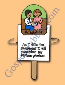 SACRAMENT / BAPTISM COVENANTS: Primary 3 CTR-B, Lesson 33, Primary 3 manual, The Sacrament Reminds Us of Our Covenants, Primary Lesson Helps, Sunday Savers book or CD-ROM, Gospel Grab Bag, gospelgrabbag.com