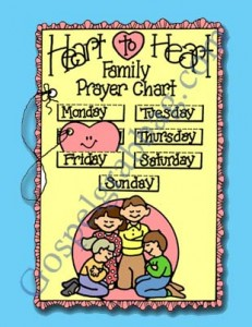 FAMILY PRAYER: Sunbeam Lesson 27, We Can Pray As a Family, Sunday Savers book or CD-ROM, gospelgrabbag.com, Primary Lesson Helps, Primary 1 manual