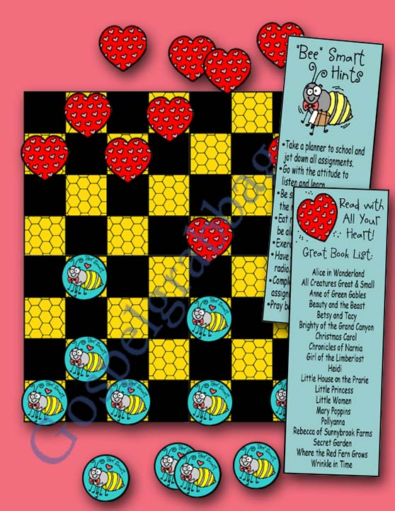 DT.06-Smart-Bees-and-Hearts-Checkers-preview