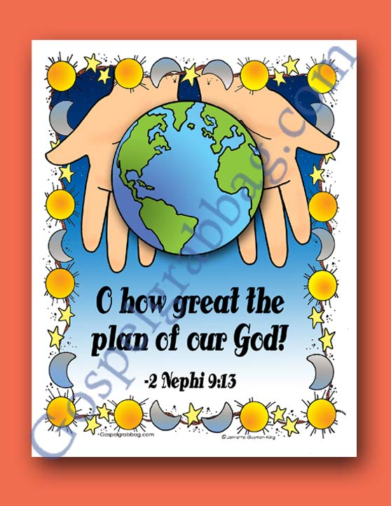 Plan of Salvation: LDS Lesson Activity: I Am Loved from Up ...