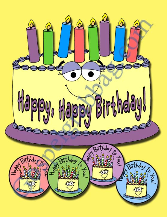 Happy-Birthday-Cake-and-Badges