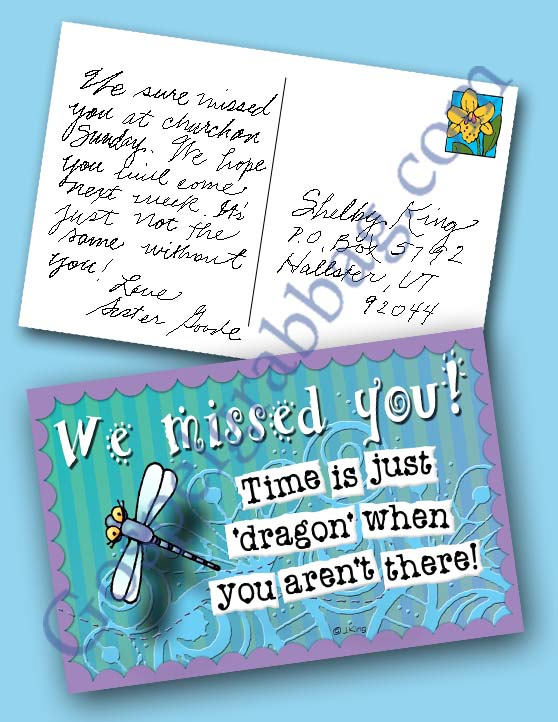 Dragonfly-Miss-You-Postcard
