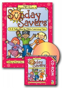 Sunday Savers books and CD-ROMs, Primary lesson activities, CTR-A, Primary 2 manual, Activities to Make Learning Fun, Gospel Grab Bag, gospelgrabbag.com