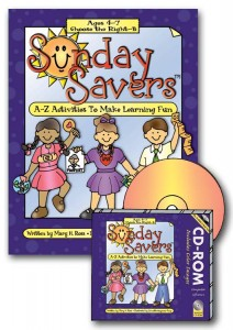 Sunday Savers books and CD-ROMs, Primary lesson activities, CTR-B, Primary 3 manual, Activities to Make Learning Fun, Gospel Grab Bag, gospelgrabbag.com