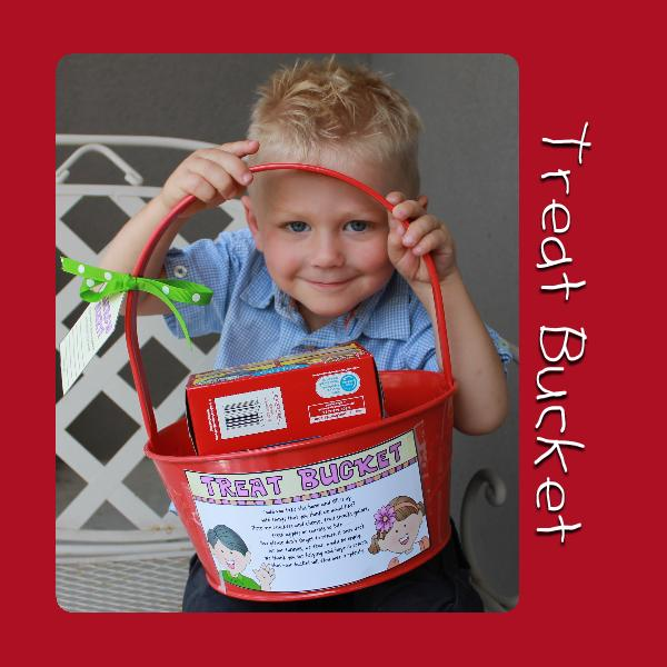 Nursery Treat Bucket: Behold Your Little Ones, Sunday Savers book or CD-ROM, lesson 1, gospelgrabbag.com