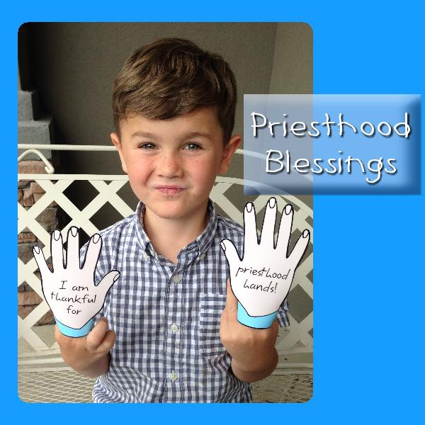 Priesthood Heavenly Father Blesses Me Through The Primary Lesson Helps Behold Your