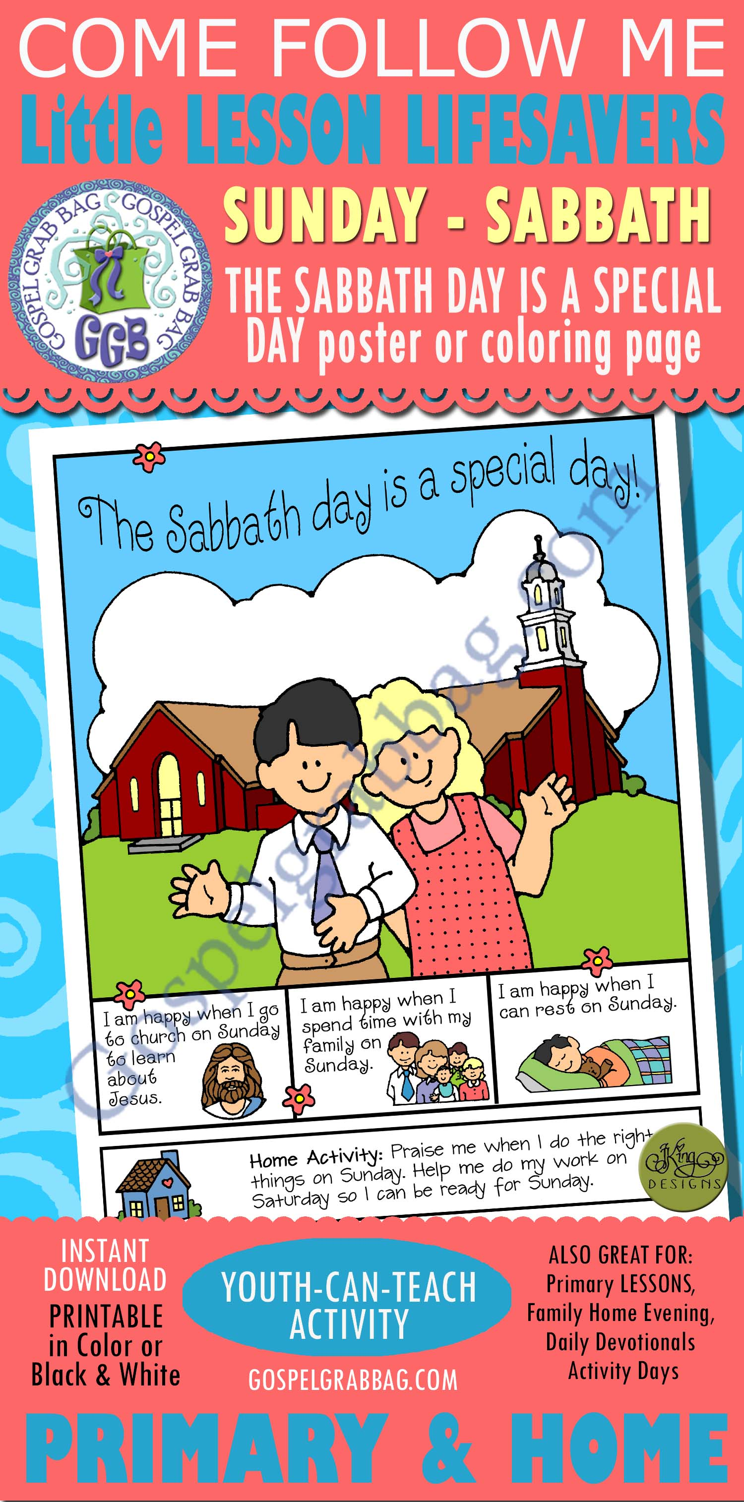 Sabbath Day Primary Lesson Helps