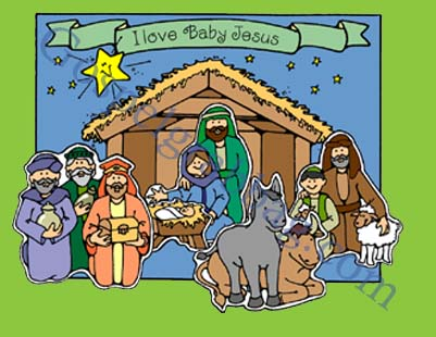 CHRISTMAS - GODHEAD: Primary Nursery Lesson 30, Jesus Christ Is the Son of Heavenly Father, Sunday Savers book or CD-ROM, gospelgrabbag.com, Primary Lesson Helps, Behold Your Little Ones