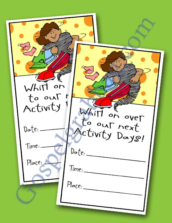 Homemaking lds activity day ideas developing talents for Idea door activity days