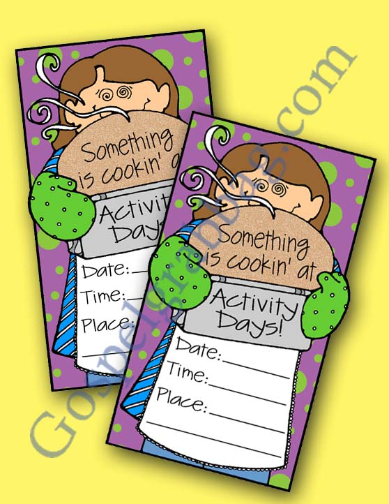 Talents - Health & Nutrition: LDS Lesson Activity - Activity Days, Come,  Follow Me - develop skills - Gospel Grab Bag