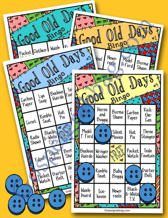 $2.00 - SERVING SENIORS: LDS Activity Days – Serving Others – Goal 7, parent-child activity, senior spotlight, good old days bingo, family home evening, gospelgrabbag.com