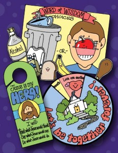 Sunday Savers preview - book covers – CTR-A - Choose the Right A - Primary Manual 2 activities, gospelgrabbag.com