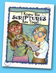 FREE POSTER with the purchase of $2.50 - Theme Poster - 2016 Sharing Time Theme: I Know the Scriptures Are True, gospelgrabbag.com
