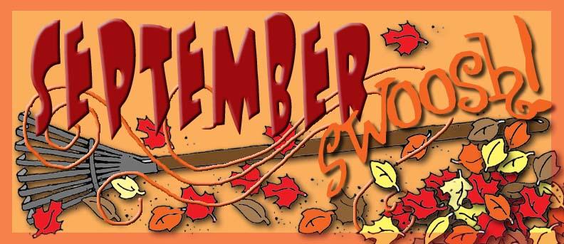 September header banner, gospelgrabbag.com