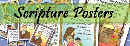 HEADER: Scripture Posters and Cards - Standard Works, GospelGrabBag.com