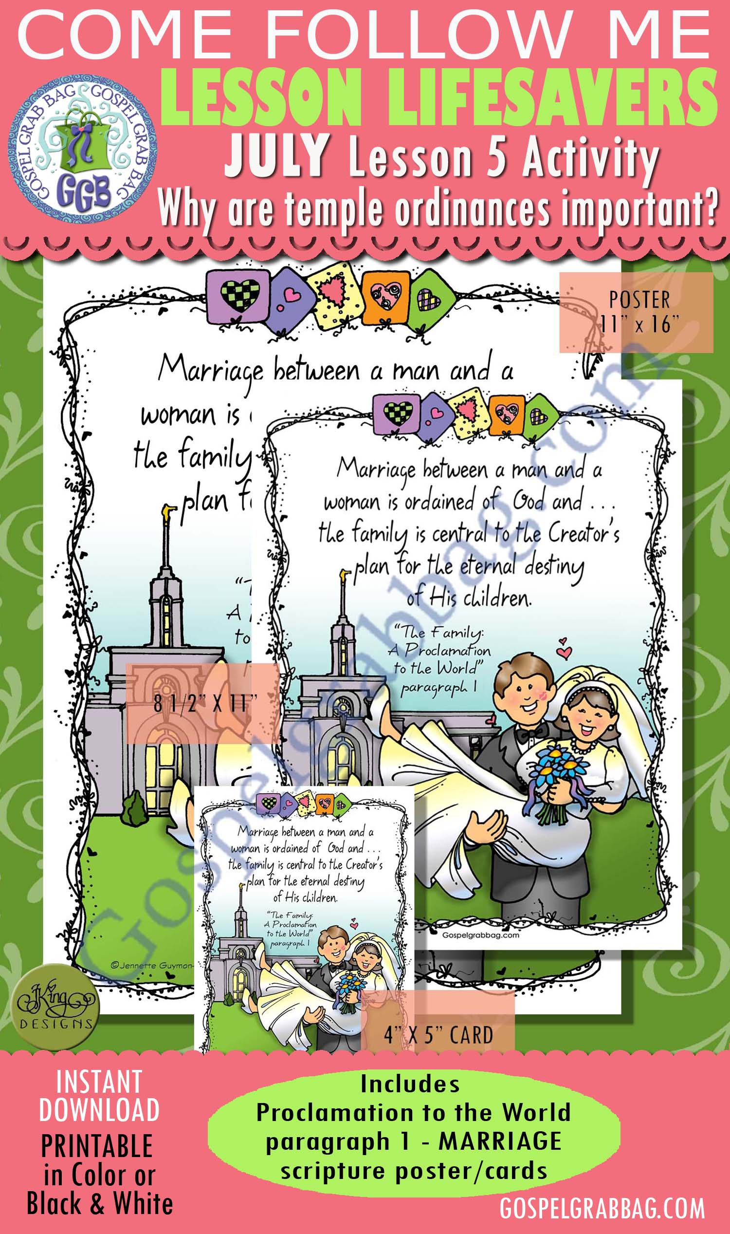Family Marriage Scripture Poster The Family A Proclamation To