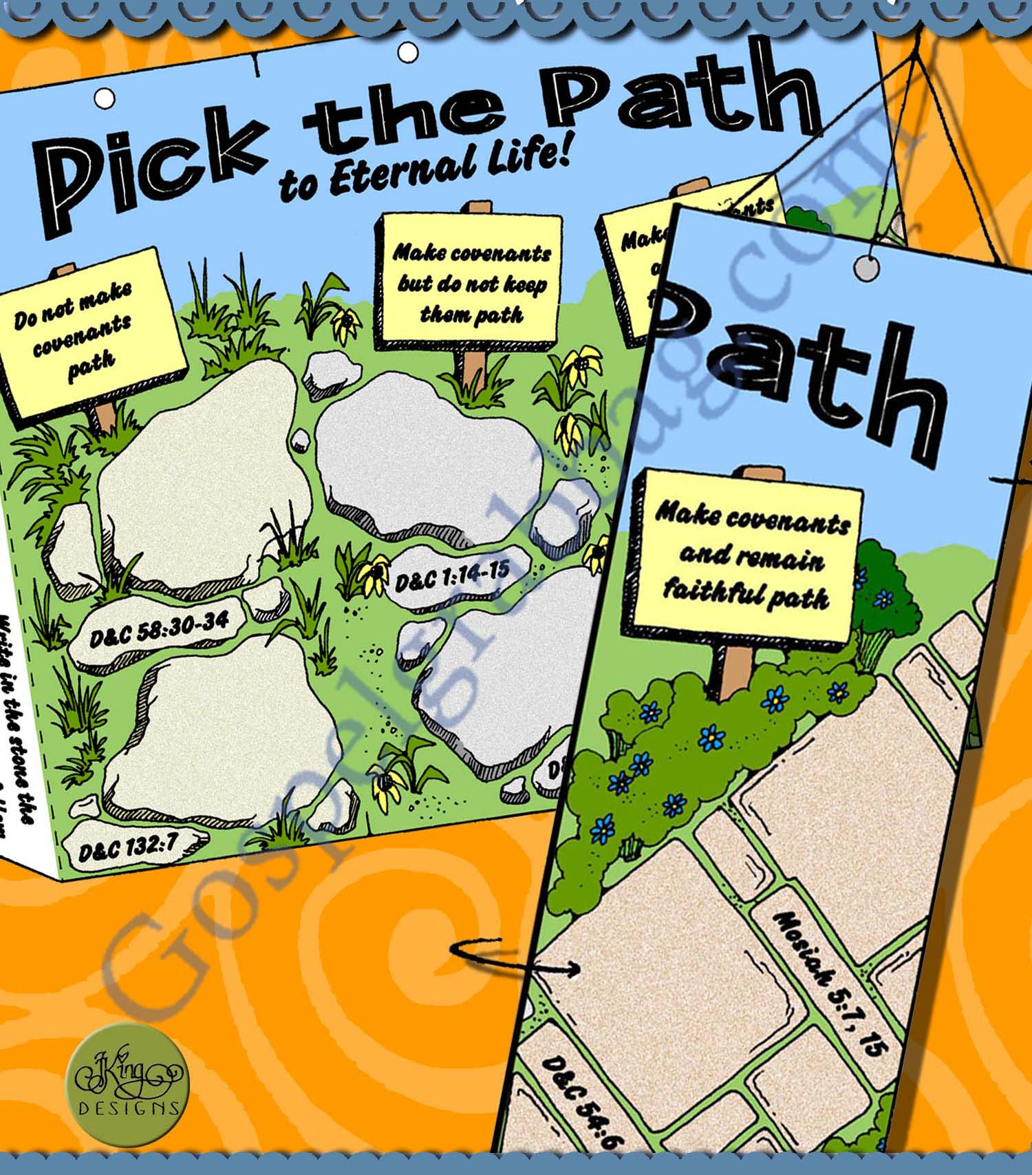 Path to Eternal Life Decision Maker mobile